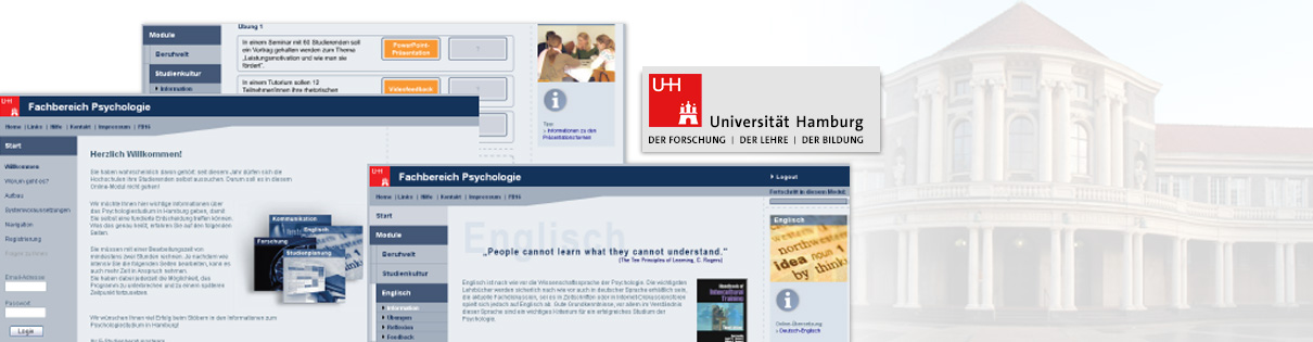 virtuelle studienberatung selfassessment zur studierendenauswahl am fachbereich psychologie der universitt hamburg cyquest the recrutainment company - Uni Hamburg Bewerbung