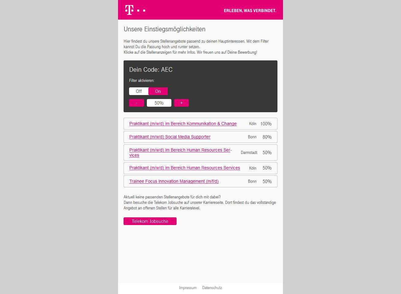 Bewerbungsbogen Steinbeis Fuer Telekom De 4