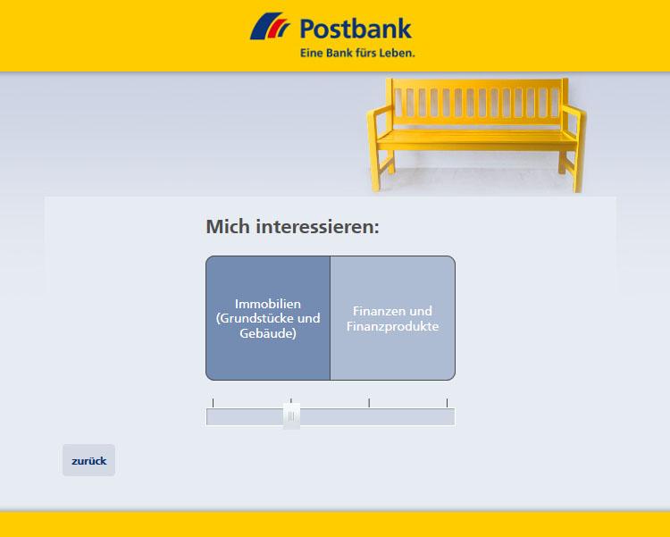 Postbank Ausbildungs-Navi Item