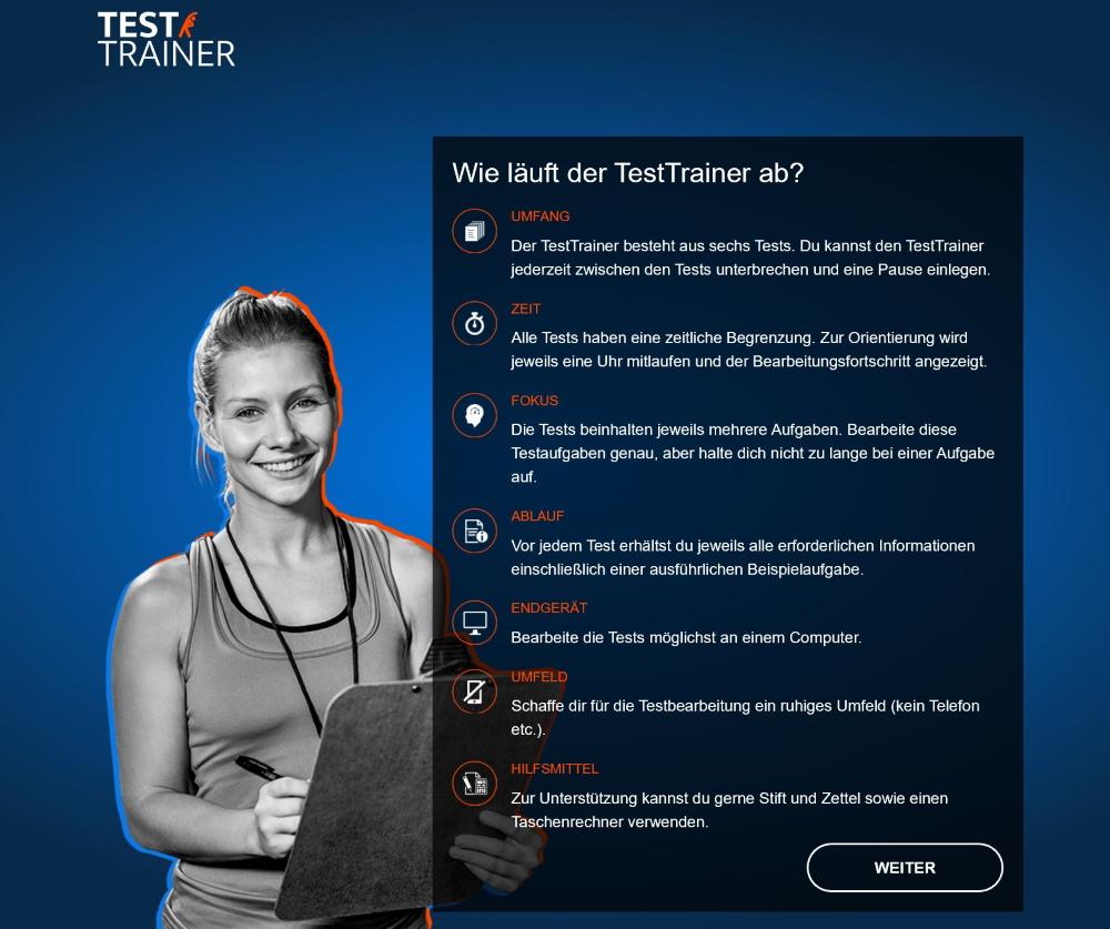 Ablauf TestTrainer